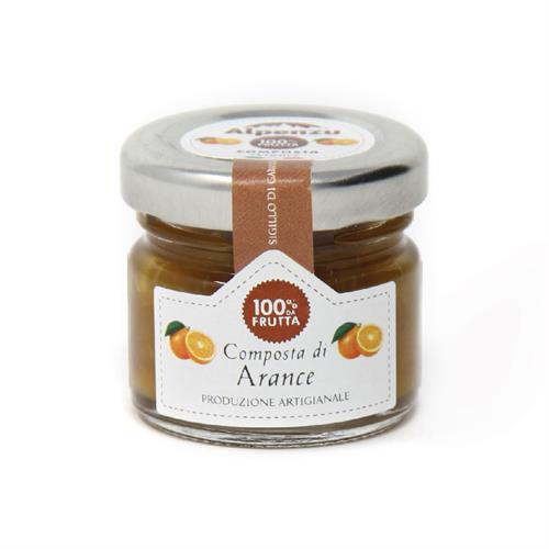 COMPOTE D'ORANGE 100% FRUIT 28 G.