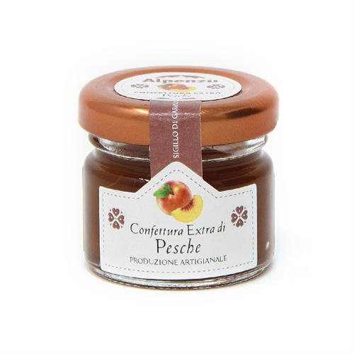 CONFITURE DE PECHES 28 G.