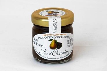 CONFERCTIONERY PRODUCT AVEC PEARS AND CHOCOLATE 40 GR