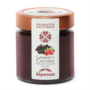 CONFECTIONERY PRODUCT WITH RASPBERRIES AND CHOCOLATE 270 G.