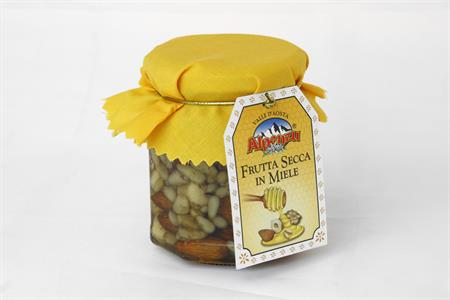 MIX OF DRIED FRUITS IN HONEY 250 GR.