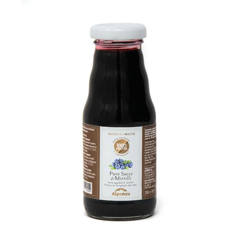 PURE BLUEBERRY JUICE (NO ADDED SUGAR) 200 ML.