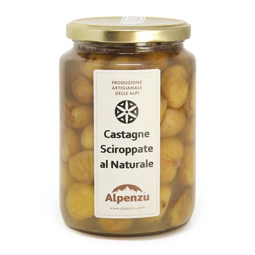 CHESTNUTS IN BRINE (AU NATUREL) 880 GR.