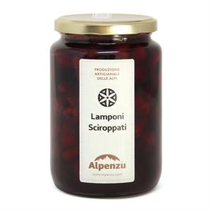 RASPBERRIES IN SYRUP 840 GR.