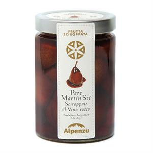 MARTIN SEC PEARS IN SYRUP WITH RED WINE 580 G.