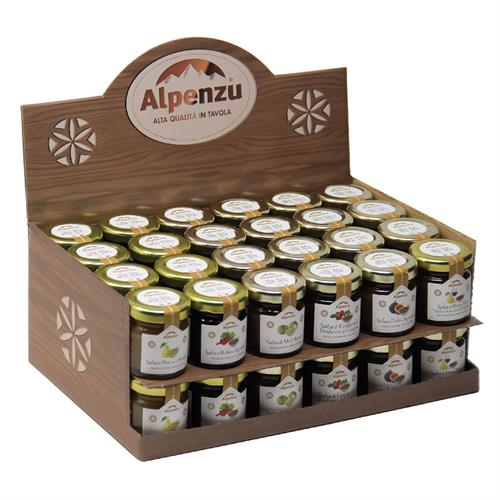 DISPLAY BOX FOR CHUTNEY 40 GR. 48 PIECES