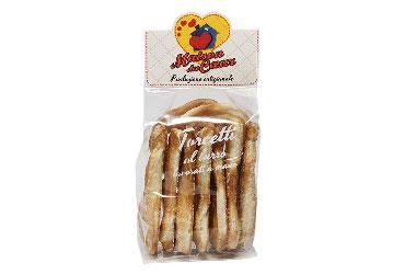 HANDMADE BUTTER TORCETTI BISCUITS 150 GR.