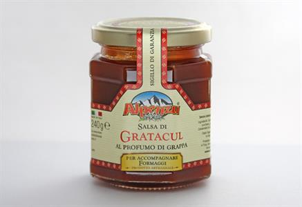 GRATACUL (OR ROSA CANINA) CHUTNEY FLAVORED WITH GRAPPA GR. 240