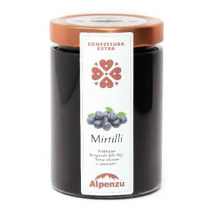BLUEBERRIES JAM 650 GR.