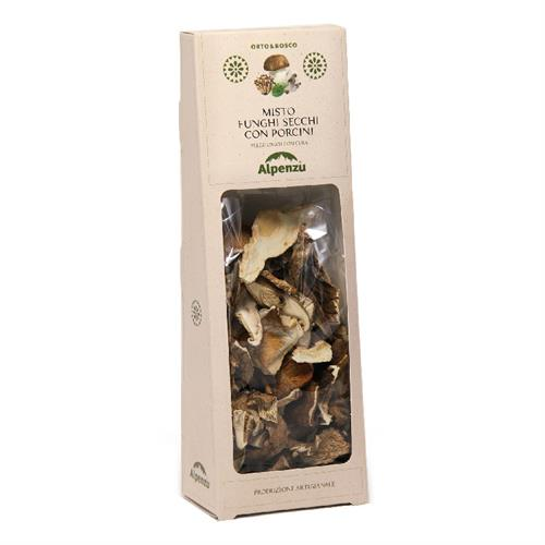 MIXED DRIED MUSHROOMS WITH PORCINI MUSHROOMS 50 G.