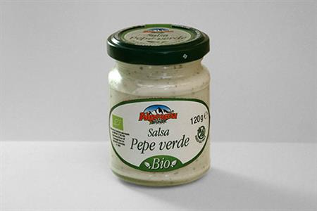 BIOLOGICAL GREEN PEPPER SAUCE 120 GR