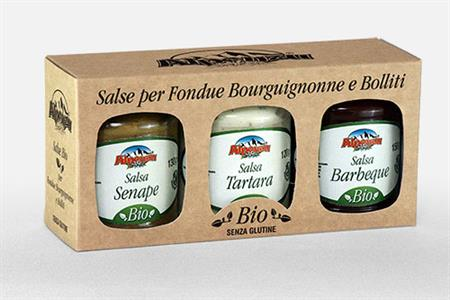 TRIO DE BIOLOGICAL SAUCES FOR BOILED MEATS (TARTAR-BARBECUE -MUS
