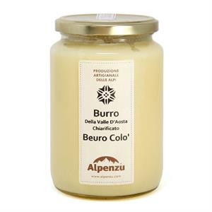 AOSTA VALLEY'S CLARIFIED BUTTER GR. 660 BEURO COLO'