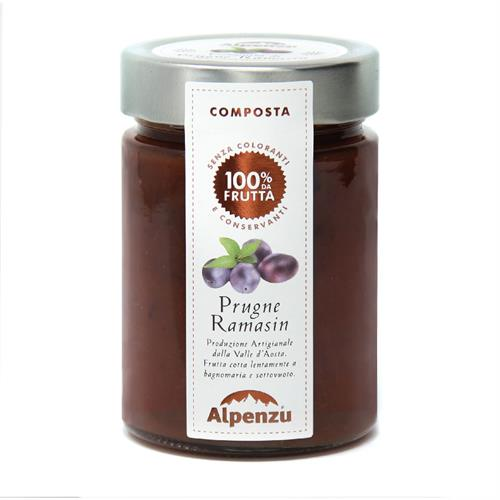 RAMASIN PLUM COMPOTE 100% FRUIT 350 G.