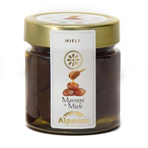 CHESTNUTS IN ITALIAN HONEY 300 G.