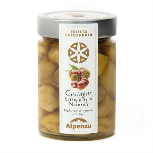 CHESTNUTS IN SYRUP 400 G.